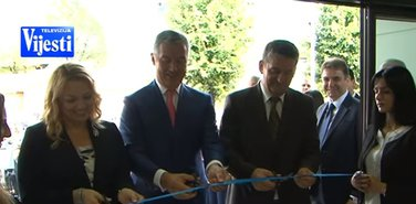 Sanja Vlahović, Milo Đukanović, Veselin Grbović