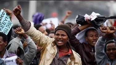 Etiopija protesti