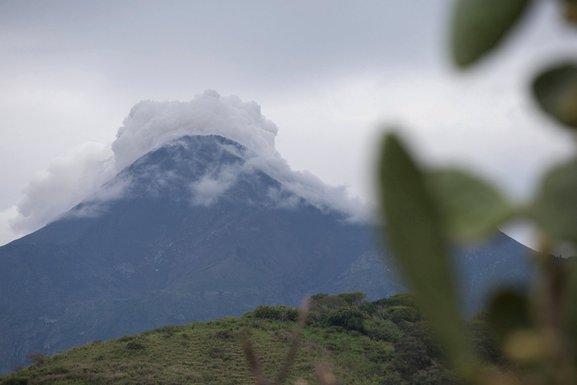 Vulkan Kolima, Meksiko