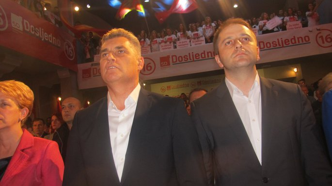 Socijaldemokrate Bijelo Polje, Ivan Brajović, Damir Šehović