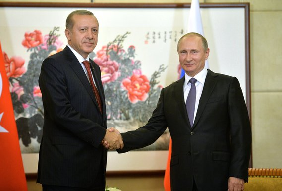 Redžep Tajip Erdogan, Vladimir Putin