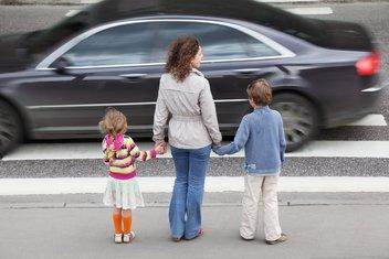 djeca, saobraćaj,