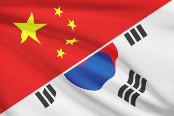 Kina, Južna Koreja