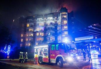 Njemačka, požar