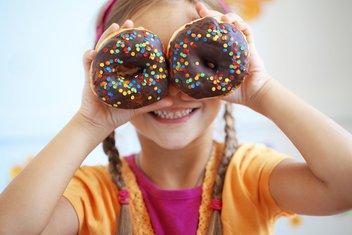 šećer, dijete, slatkiši