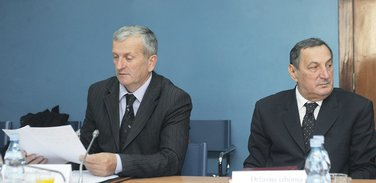 Milisav Ćorić, Budimir Šaranović