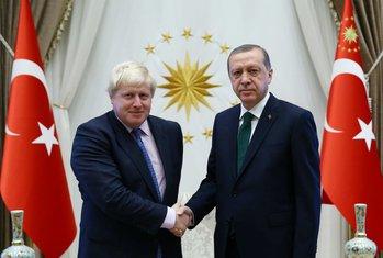 Boris Džonson, Redžep Tajip Erdogan
