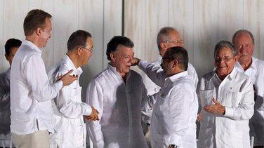 FARC Kolumbija sporazum