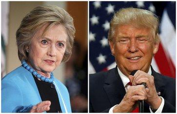 Hilari Klinton, Donald Tramp