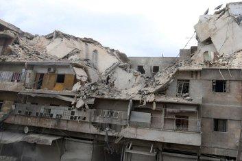 Alep, bombardovanje