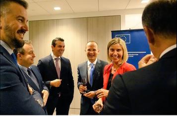 Sastanak ministara vanjskih poslova Zapadnog Balkana, Federika Mogerini