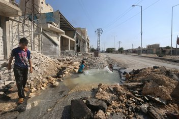Alepo bazen Sirija