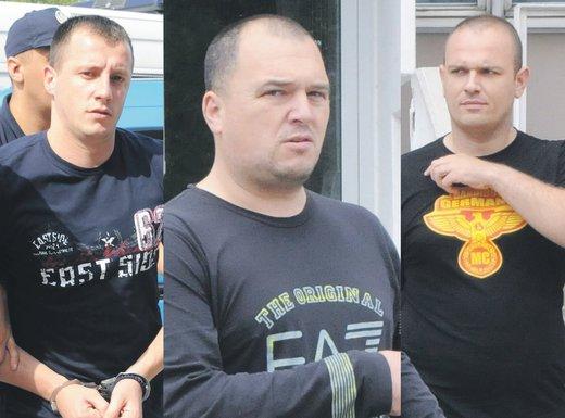 Ivan Bušković, Dejan Čurović, Ivan Siništaj