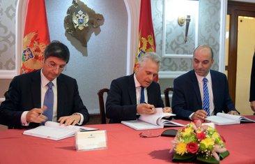 Potpisivanje ugovora o dodjeli koncesije