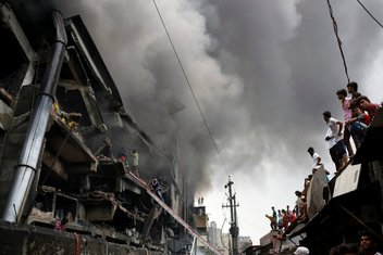 Bangladeš požar