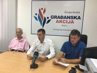 Stevan Džaković, Mihailo Backović, Božidar Vujičić