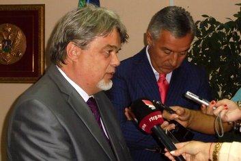 Zoran Srzentić, Milo Đukanović
