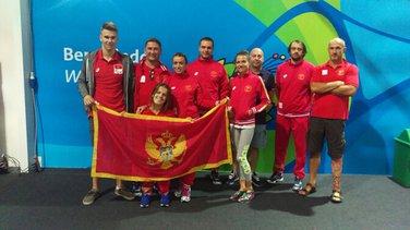Paraolimpijska ekipa Crne Gore
