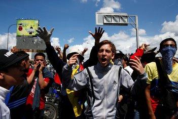 Venecuela protest opozicije