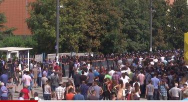 Priština, protest