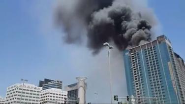 Abu Dabi požar