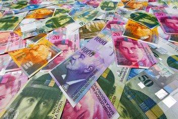 Švajcarski franci