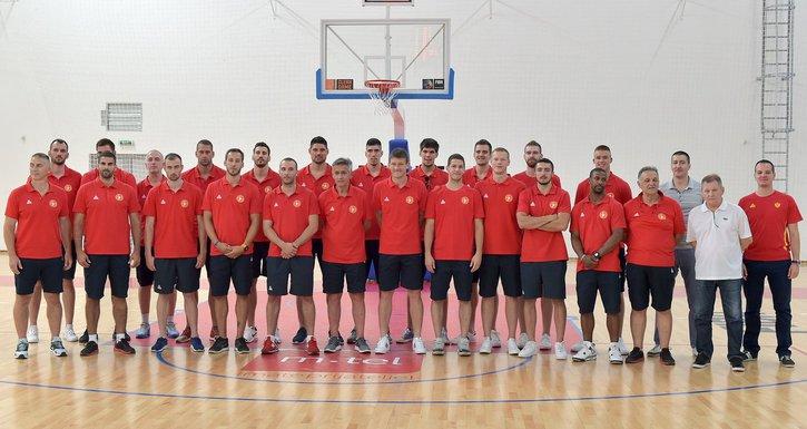 Košarkaši Crne Gore