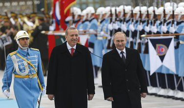 Vladimir Putin, Redžep Tajip Erdogan