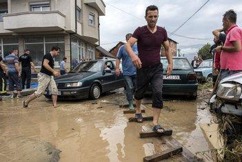 nevrijeme, Skoplje