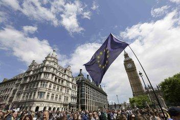 London, Bregzit protest
