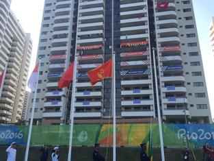 Crnogorska zastava - Rio