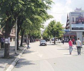 glavna gradska ulica Pljevlja