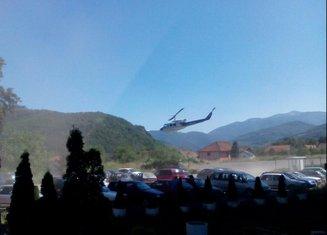 helikopter, udes Bijelo Polje