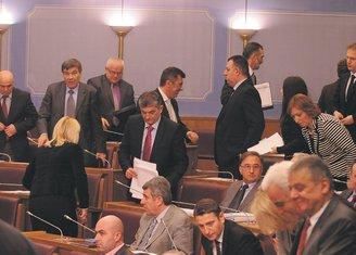 Skupština Crne Gore, Opozicija