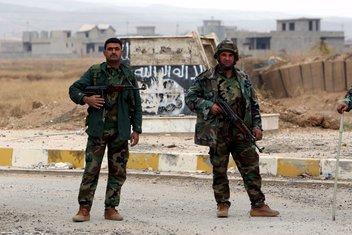 Kurdi, pešmerge, Sindžar