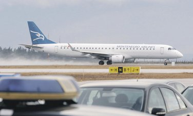 avion, Montenegro airlines