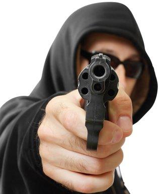 Pištolj, pucanj (Novine)