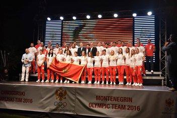 Ispraćaj crnogorskih olimpijaca