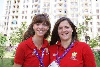 Marija Vuković i Kristina Rakočević