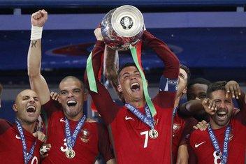 Kristijano Ronaldo i Pepe