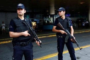 Istanbul, policija