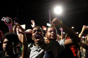 protest, crnci, SAD
