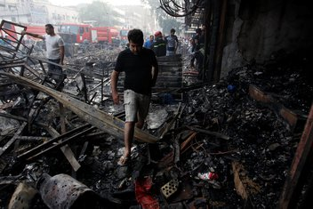 Bagdad, napad