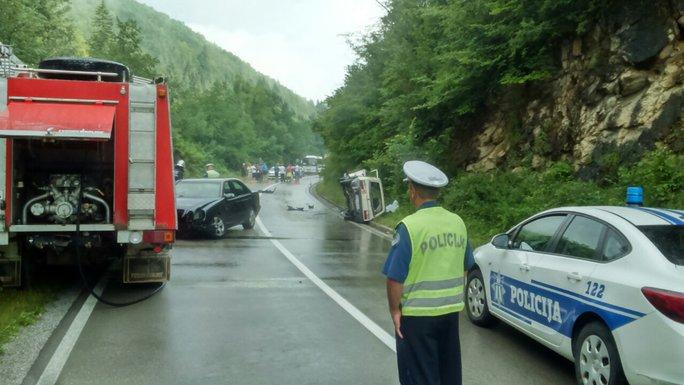 Saobraćajna nesreća, Pljevlja