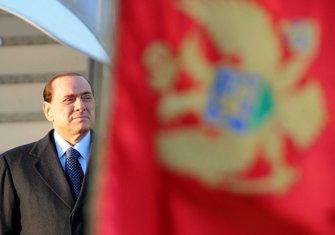 Silvio Berluskoni Crna Gora