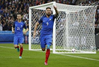Olivije Žiru Euro 2016