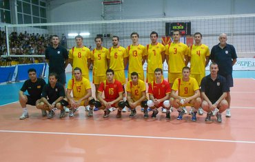Odbojkaška reprezentacija Makedonije