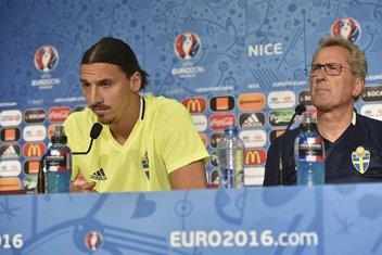 Ibrahimović i Hamren