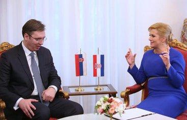 Aleksandar Vučić, Kolinda Grabar Kitarović