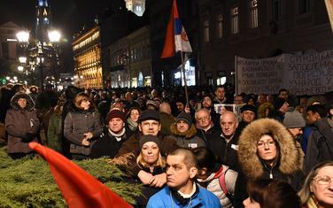 Sa protesta u Novom Sadu